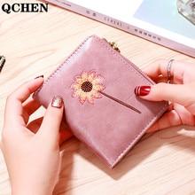Soft Wallet Coin-Purse Letter Small Short Women 5-Star 430 Tassel Square Zip Korean Student