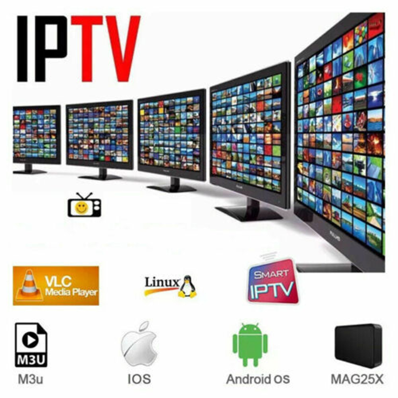 1 Year Europe US UK Brazil Poland Spain  IPTV Subscription 8000+Live  HD IPTV M3u Enigma Vod Sports Adult Free Test