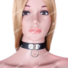 Sexy Collar Bondage BDSM Sexual Toys Restraint Sex Toys Slave Roleplay Toys Neck Ring harness For Women Flirting Sex Toys(China)