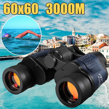 High Definition Telescope Binocular HD 10000M High Magnification  Outdoor Hunting Military Night Vision Binoculars 60X60 X396B