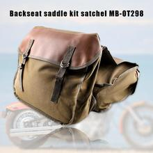 Новая сумка для хвоста мотоцикла многофункциональная прочная задняя Сумка для сиденья мотоцикла Высокая емкость рюкзак велосипедиста Универсальный