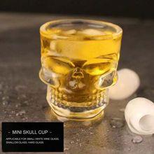 Bones Armor Warrior Skull Taza de copa de copa de vino diseñada gótica