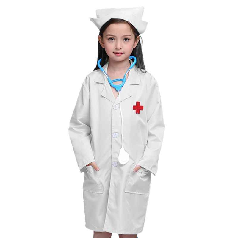 Childrens Surgeon Fancy Dress Costume Hospital Doctor Outfit 128Cm