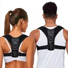 Adjustable Back Posture Corrector Clavicle Spine Back Shoulder Lumbar Brace Support Belt Posture Correction цена 2017