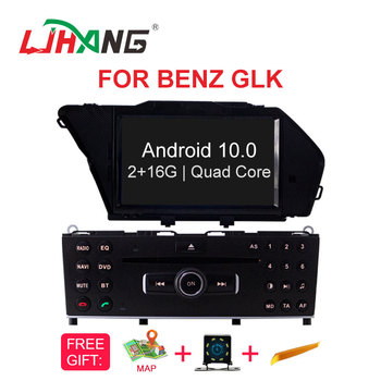 LJHANG Android 10 Car DVD Multimedia Player For Mercedes Benz GLK Class X204 GLK300 GLK350 GPS Navi 1 Din Car Stereo WIFI Audio image
