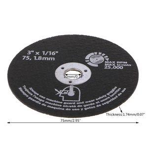 Image 5 - 10pcs Circular Resin Grinding Wheel Saw Blades Cutting Wheel Disc For Metal Cutting