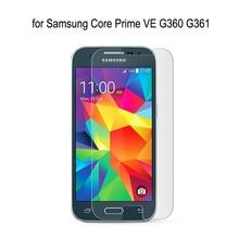 2pcs สำหรับ Samsung Galaxy Core Prime G360 G360F G360H G361 G361F G361H โทรศัพท์สูงล้างกระจกนิรภัยบาง Screen ป้องกันฟิล์ม