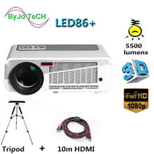 Poner Saund LED86+ Full HD 1080P LED projector 5500 lumens 1280x800 3D Proyector