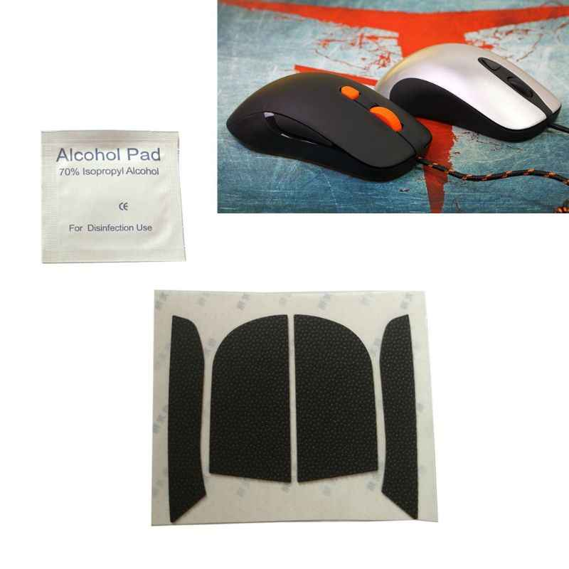 mengersty Mouse Feet Mouse Skates Side Stickers Sweat Resistant Pads Anti-Slip Tape for Steelseries KANA Mouse