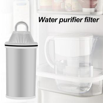 Filtr z węglem aktywowanym w gospodarstwie domowym filtr oczyszczający wodę uniwersalny filtr dzban dla dziecka Famlily kuchnia filtr wody tanie i dobre opinie RUBBER 1 8 L