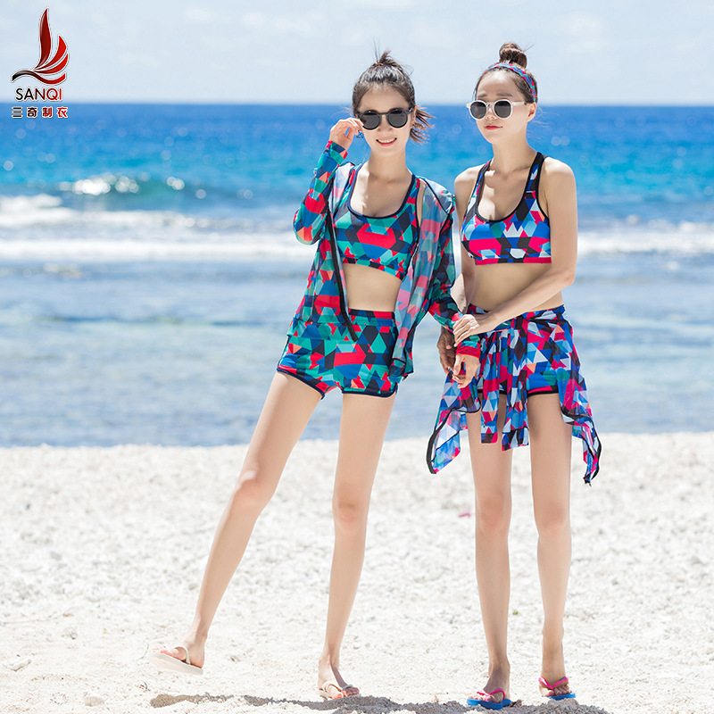 Manufacturers Direct Selling Sanqi Bathing Suit Outer Shirt