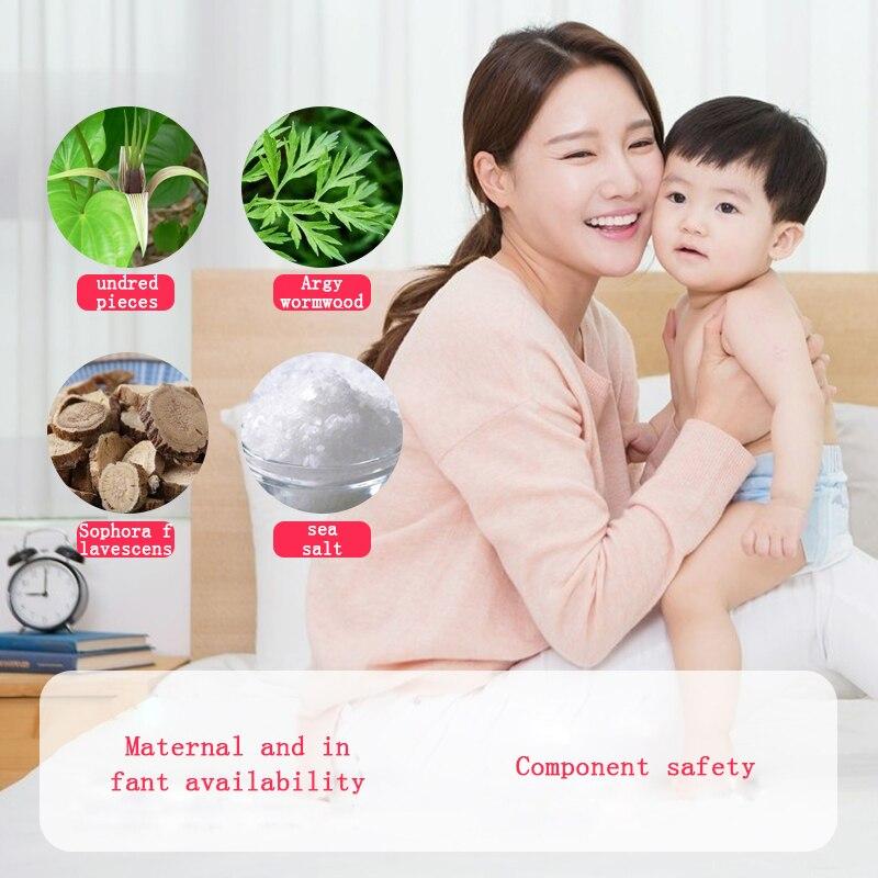 Image 2 - 10 Bags Mite Killer Natural Herbal Antibacterial Except Bag Women  Baby Bed Bugs Cleaner Insecticide Wormwood Locust PasteRepellents   -