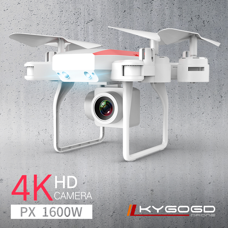 KY606D Drone FPV RC Drone 4k Camera 1080 HD Aerial Video dron Quadcopter RC helicopter toys for kids Foldable Off-Point drones(China)