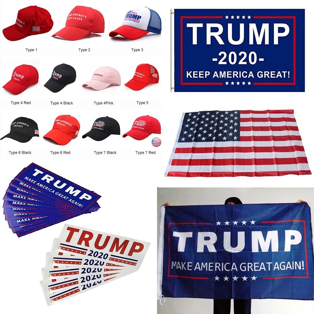 Donald For USA President 2020 Trump Flag Keep America Great Again