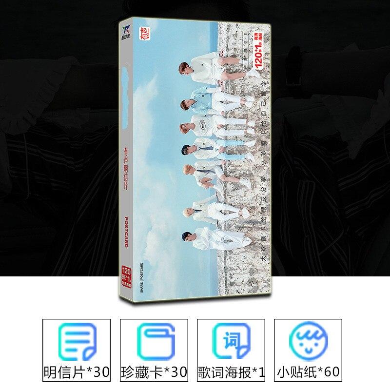 Kpop 2019 New Jungkook Jimin Suga Fashion Star The Surrounding The Same Paragraph 121 Zhang LOMO K-pop K Pop Card