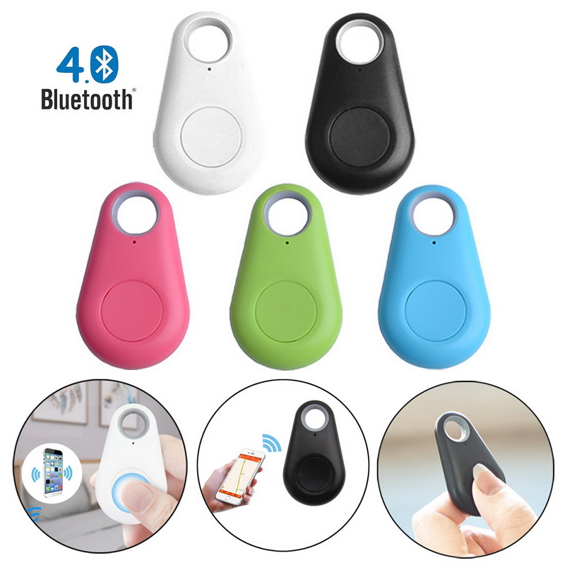 Mini Smart Bluetooth GPS Tracker Locator Alarm Key Keychain Pet Dog Tracker Wallet Finder Child Carphon Phone Anti Lost Remind