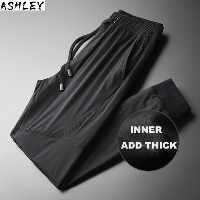 man's Double face trousers are 4XL in size, windbreak cloth, and high-end men's cigarette butts,