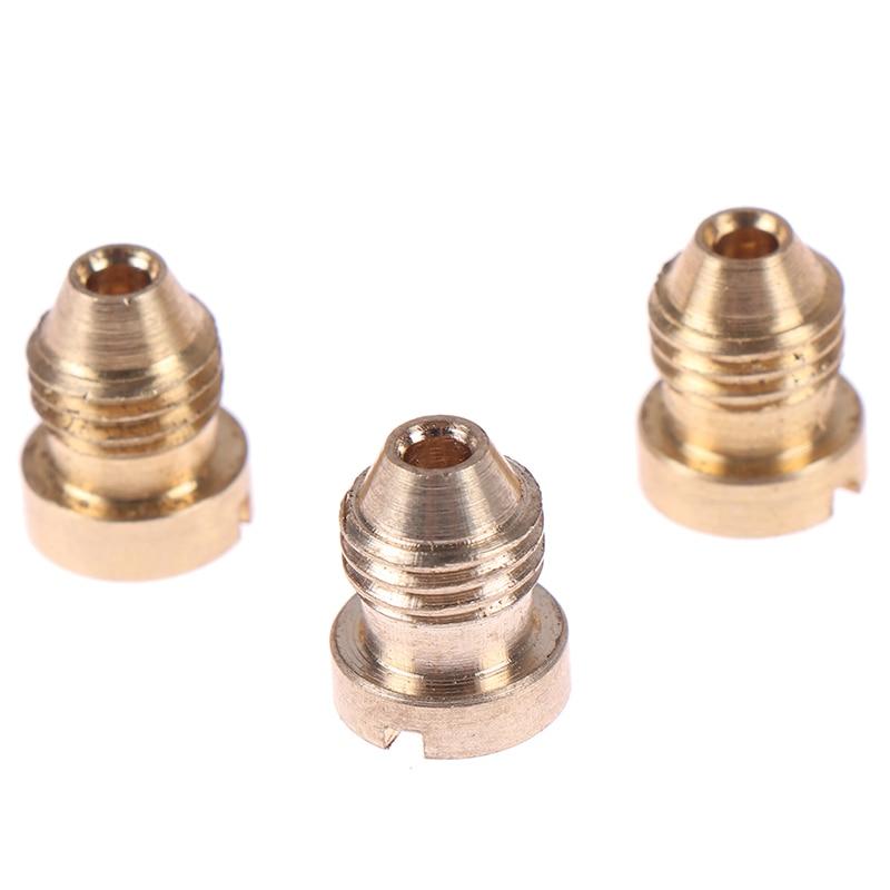 1.1mm/1.25mm/1.4mm Snow Foam Cannon Orifice Nozzle Tips Thread Foam Orifice Nozzle High Quality
