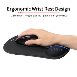 Image 4 - TeckNet Classic Office Mouse Pad Gaming Mouse Mat Pad Ergonomic Mousepad Build in Soft Sponge with Gel Wrist Rest Mice Pad