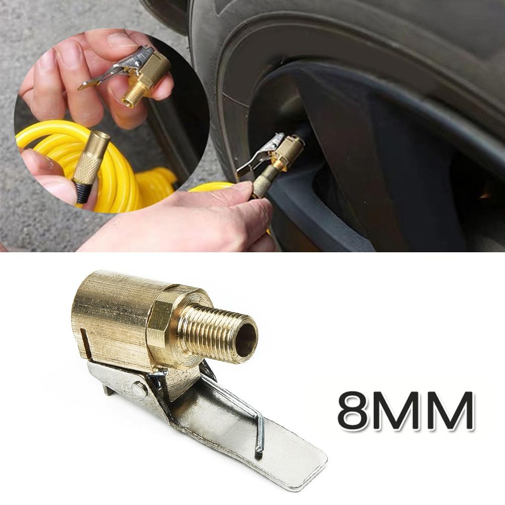 1x Auto Car Tire Pneumatic Valve Connector Wheels Air Pumps Chucks Garage Piping