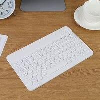 2021 telefono Tablet tastiera Wireless tastiera multi-dispositivo Wireless compatibile Bluetooth tastiera rotonda Keycaps per PC Android iOS