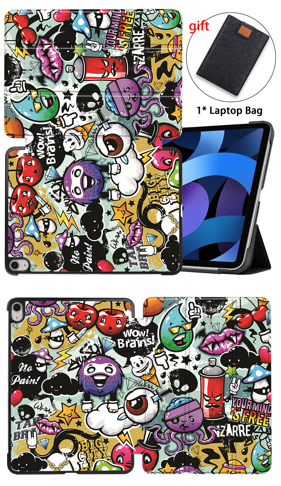 4th Generation PU iPad Leather For Air 2020 10.9 Stand inch MTT Tablet Flip Case Folio