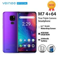 Vernee M7 4 Gb Ram 64 Gb Rom Smartphone Android 9.0 6.1