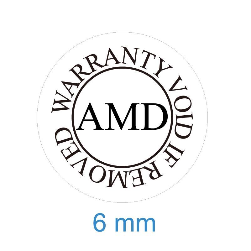 270 шт. гарантия на 6 мм Диаметр AMD аннулируется при снятии наклеек с печатью, артикул V44
