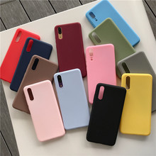 Redmi 7 Case Redmi7 Cover Soft Silicon Phone Case For couqe Xiaomi Redmi 7 7A Note 7 Color Soft Silicone Case Redmi Note 7 Pro