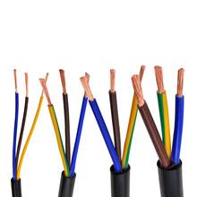 AVVR czarny kabel 24AWG 0 2MM 2 rdzeń 3 rdzeń 4 rdzeń 5 core 6 rdzeń 7 core 8 core 10 rdzeń 12 rdzeń 16 rdzeń kontrola przewód sygnałowy tanie tanio Diligent ant Miedzi AVVR black cable Stranded Podziemne Izolowane