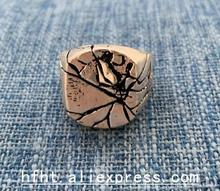 Mens Rings Vintage Rock Punk  Cool Fashion Individuality Signet Ring for Men Party Jewelry