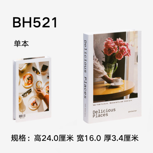 Modern Home Decoration Fake Books Simulation cant open Desktop Furnishing Articles Sitting Room Decorate Coffee Shop