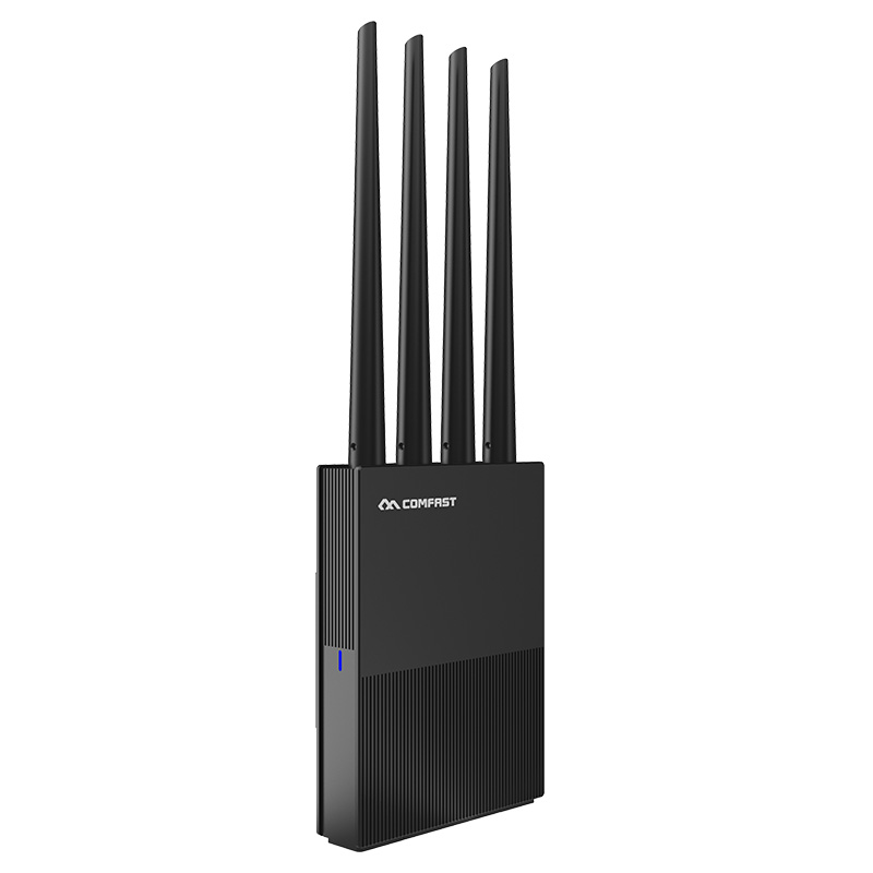 Comfast Gigabit Router AC1200 Wireless Wifi Range Extender Repeater Dual Band 2.4G/5G Antennas New
