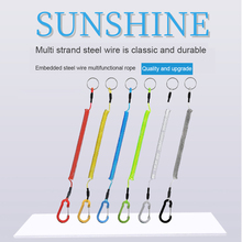 Buckle-Rope Fishing-Rope-Accessories Anti-Lost-Rope Fish-Hanging Strong Pliers-Control