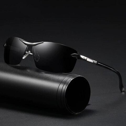 Brand Design Fashion Sunglasses Men Polarized Pilot Chameleon Photochromism Anti Glare Glasses Day Night Driving Male Sunglasses Karachi