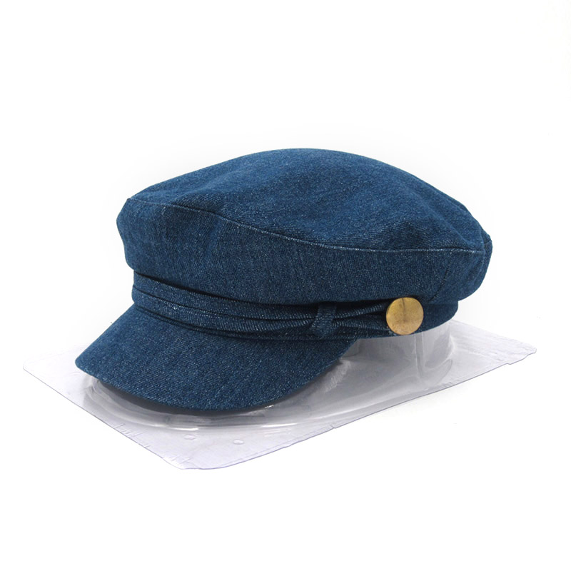 Women Autumn Winter Visor Military Newsboy Octagonal Cap Fashion British Style