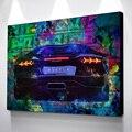 Картина настенные художественные плакаты, спортивные автомобили, задние плакаты и фотоплакаты, ВИНТАЖНЫЙ ПЛАКАТ