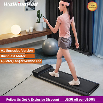 WalkingPad Upgrad A1 Pro Treadmill Under Desk Quiet Walking Pad Folding Device Footstep Control Speed Workout Home Xiaomi Joint