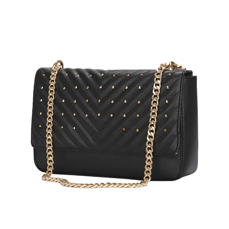 Luxury Messenger Bags Women Chains Shoulder Bag Diamond Lattice Handbags Women Bags Designer Female Totes Small Bolsas