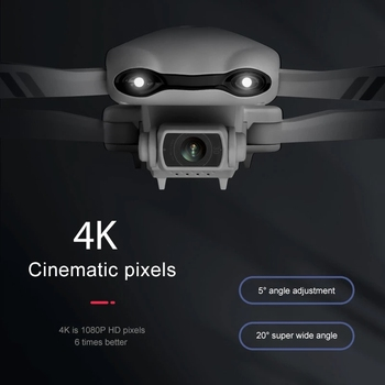 2021 NEW F10 Drone 4K 5G WiFi Video FPV Quadrotor Flight 25 Minutes Rc Distance 2000m Gps Rc Drone HD Wide-Angle Dual Camera Toy 4
