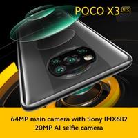 Global Version Xiaomi POCO X3 NFC Smartphone 6GB 64GB /128GB Snapdragon 732G 6.67'' 64MP Camera 33W Fast Charge 5160mAh Battery 2