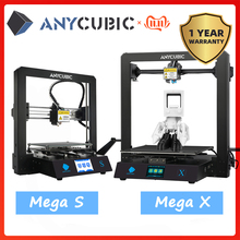 Anycubic Mega S/ X /Zero/Pro 3d Printer Volledige Metalen Frame Plus Size Desktop 3d Drucker Hoge precisie Stampante 3d Impresora 3d