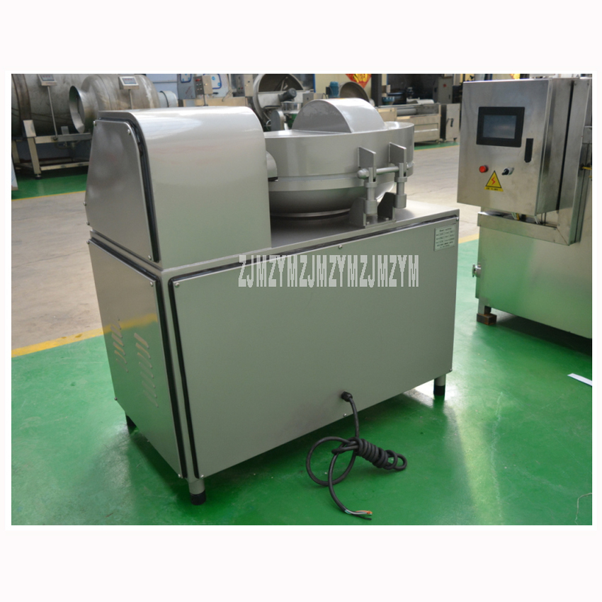 ZB-40 40L Electric Meat Beef Mincing Grinding Machine Frequency Conversion Commercial Automatic Meat Grinder Mixer 5.1kw 380V 1