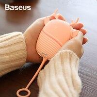 Baseus мини ручной отопитель Портативный USB Перезаряжаемый электрический грелка обогреватель для рук внешний аккумулятор зимняя ручная быстр...