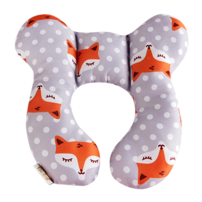 New Safety Seat Baby Head Protection Stereotype Pillow Infant Nursing U-Shaped Cervical Pillow Support Cushion Anti-Head Pillon