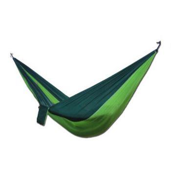 Portable Hammocks Nylon Double Person Camping Hammock Swing Outdoor Backpacking Travel Survival Hunting Sleeping Bed Parachute