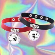 Red Bell Choker Bell Jewelry Bell Choker Christmas Choker Bell Necklace Choker With Bell bdsm Choker Jingle Bell Choker