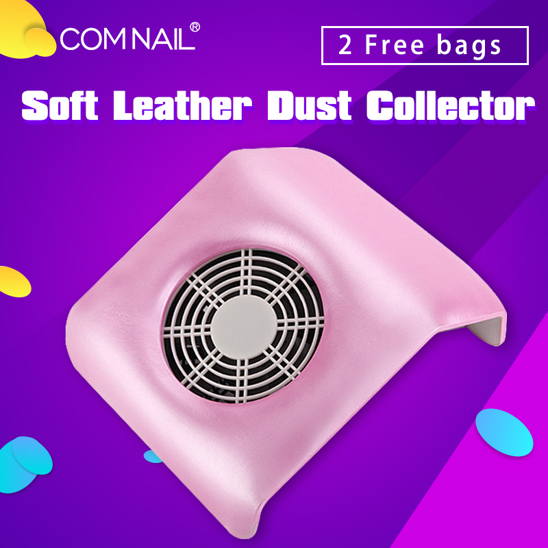 Nail Art Manicure Nail Dust Collector 30W Powerful Vacuum Cleaner Machine For Manicure Dust Collecting Nail Art Equipment