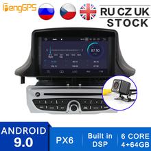 Wbudowany DSP Android 10 0 9 0 Radio samochodowe dla Renault Megane 3 Fluence 2009-2015 nawigacja GPS odtwarzacz CD DVD radioodtwarzacz Bluetooth tanie tanio PENGGPS CN (pochodzenie) podwójne złącze DIN 4*50W JPEG 1024*600 Odtwarzacz kasetowy Wbudowany głośnik mikrofon 2010