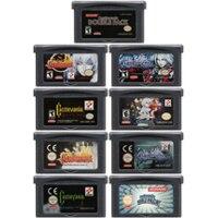 цена на Video Game Cartridge Console Card 32 Bits Castlevania Series For Nintendo GBA